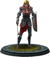 Twba character model Saskia