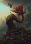 Gwent cardart monsters archespore