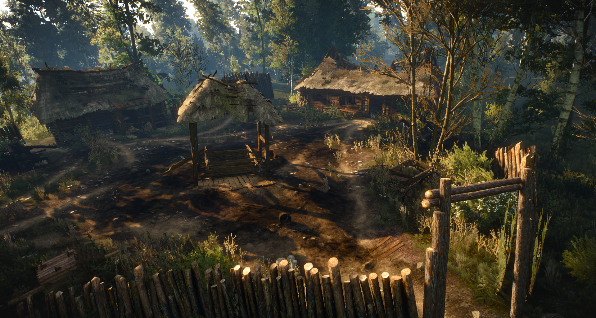 Abandoned Village (White Orchard)