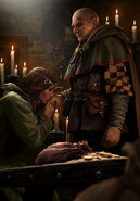 Gwent cardart neutral king of beggars
