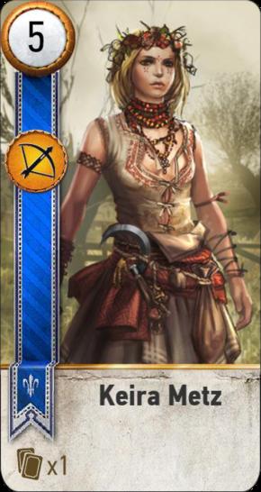 Keira Metz (gwent card)