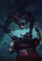 Gwent cardart monsters garkain saovine