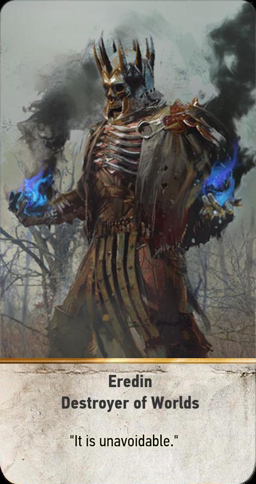 Eredin: Destroyer of Worlds (gwent card)