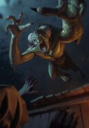 Gwent cardart monsters garkain