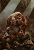 Gwent cardart monsters ghoul