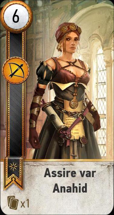 Assire var Anahid (gwent card)