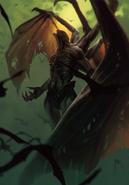 Gwent cardart monsters dettlaff higher vampire