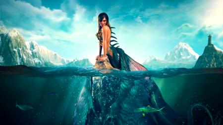 The Witcher 3, Wild Hunt, Siren concept art, spliced.png