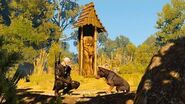 A Dog's Life- Geralt and Barylka (Witcher 3 - Micro-Quest in Velen)