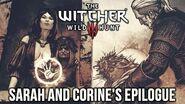 The Witcher 3 Corine Tilly & Sarah's Pre-Ending Epilogue