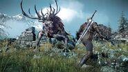The Witcher 3 Fiend Boss Fight (Hard Mode)