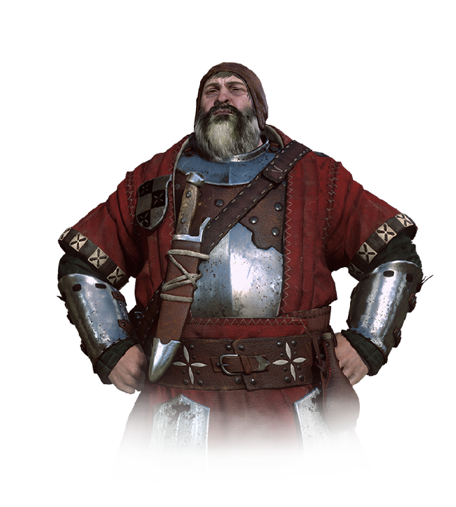 The Bloody Baron from Witcher 3