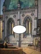Tw comics creigiau cathedral