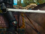 Ancient elven sword