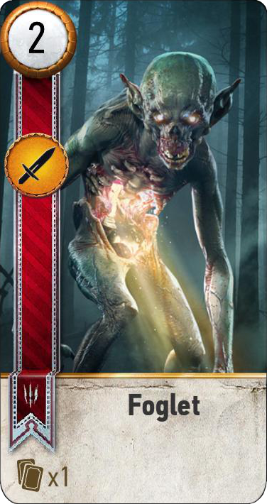 Foglet (gwent card)