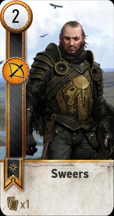 Sweers (gwent card)