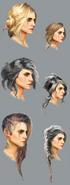 Tw3 ciri hair concept