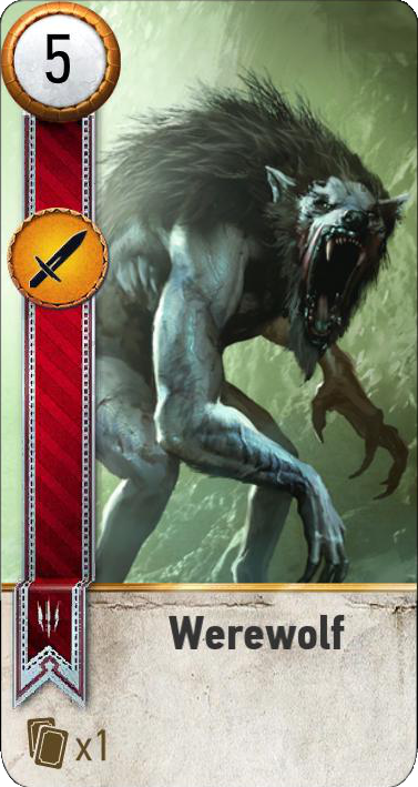 Werewolf (gwent card)