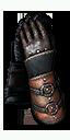 Enhanced Legendary Ursine gauntlets