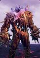 Tw3 cardart monsters fire elemental