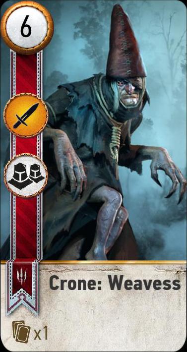 Crone: Weavess (gwent card)