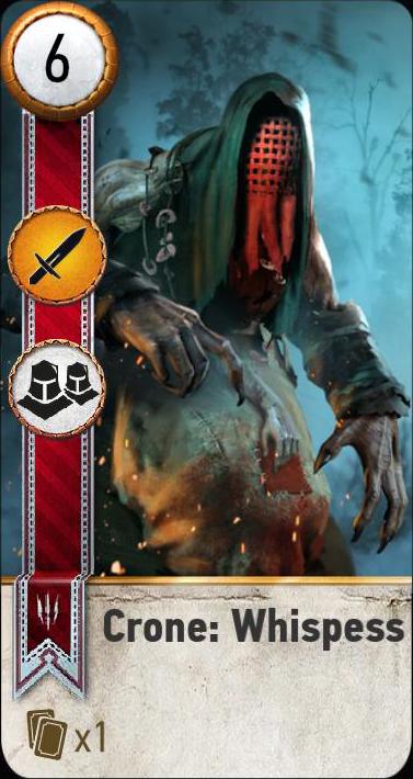 Crone: Whispess (gwent card)