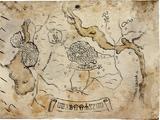 Vecchia mappa di Toussaint