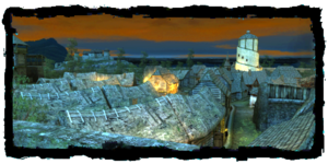 la Vieille Wyzima, vue des remparts