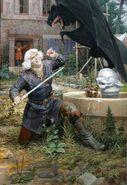 Denis Gordeev Geralt and Vereena