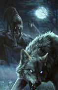 Gwent cardart monsters wolf