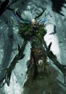 Tw3 cardart monsters leshen