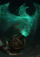Gwent cardart neutral dragons dream