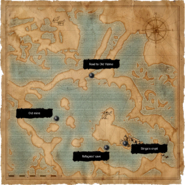Map Ancient crypts