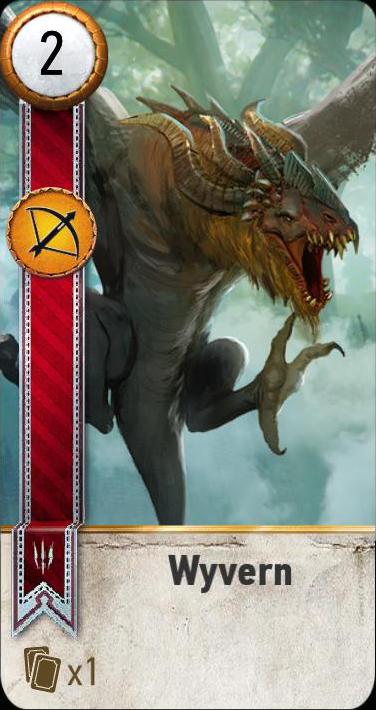 Wyvern (gwent card)