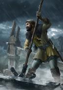 Gwent cardart northern siege support