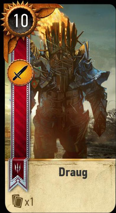 Draug (gwent card)