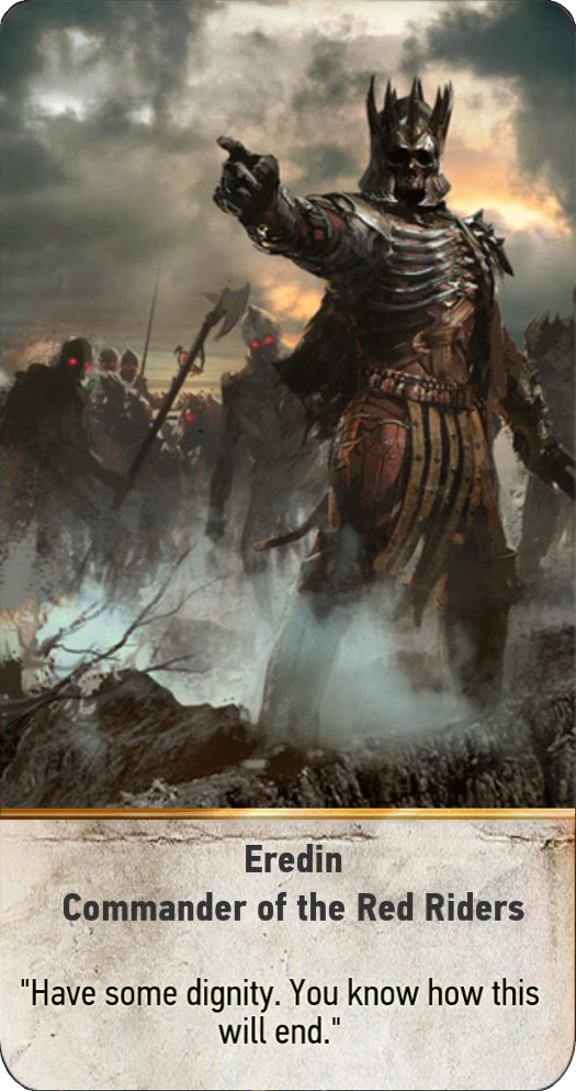 Eredin: Commander of the Red Riders (gwent card)