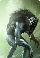Tw3 cardart monsters werewolf