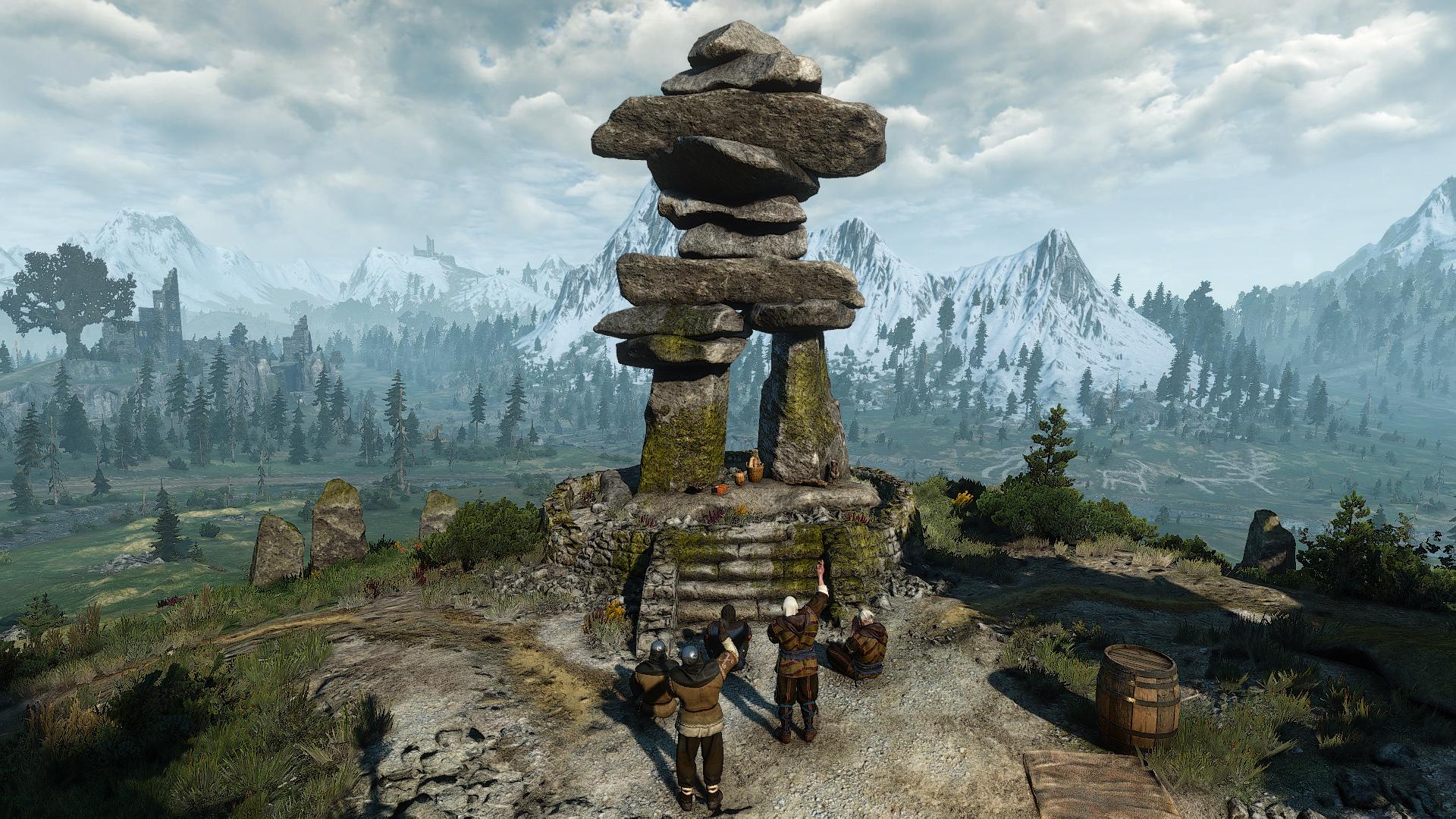 Grymmdjarr Monument