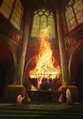 Gwent cardart syndicate sacred flame