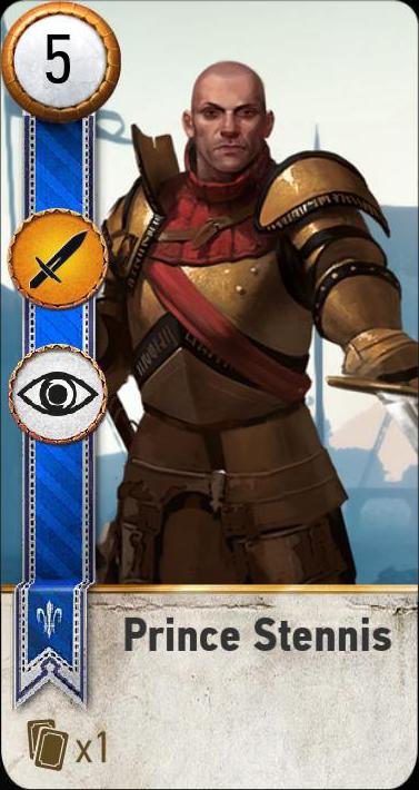 Prince Stennis (gwent card)