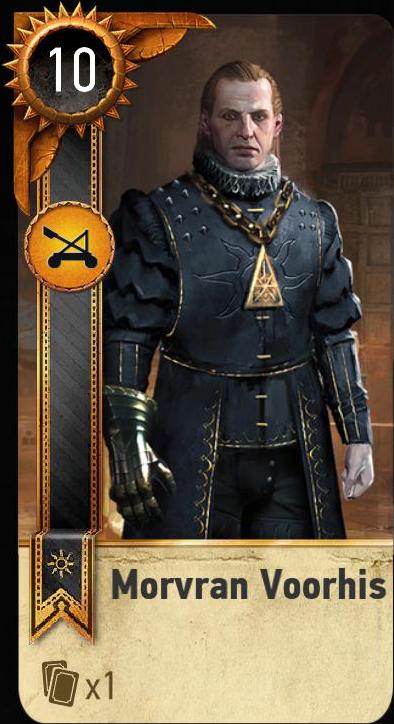 Morvran Voorhis (gwent card)