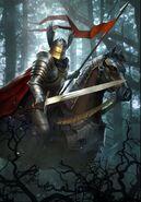 Gwent cardart nilfgaard nilfgaardian knight