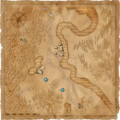 Map Murky Waters places of power