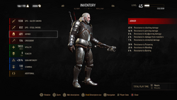 The Witcher 3 Wild Hunt Statistics NEW RGB