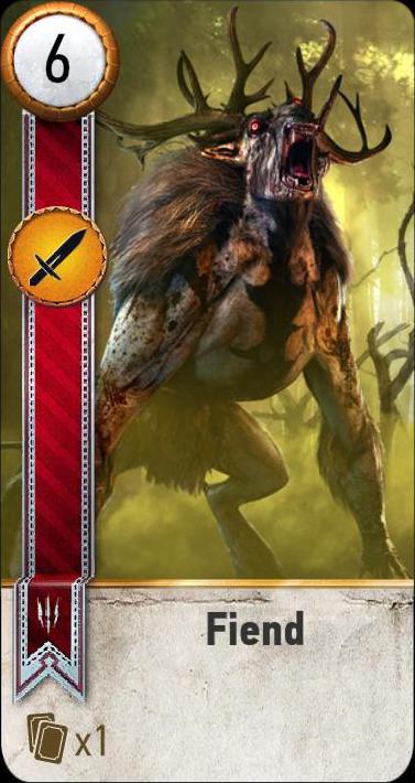 Fiend (gwent card)