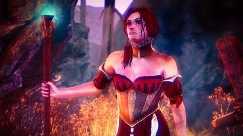 Sabrina and Draug (The Witcher 2) Full HD