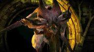The Witcher 3 Sarasti the Ekimmara Vampire Boss Fight (Hard Mode)
