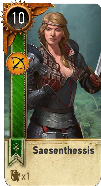 Saesenthessis (gwent card)