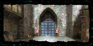 Cancello Nord al Quartiere Reale